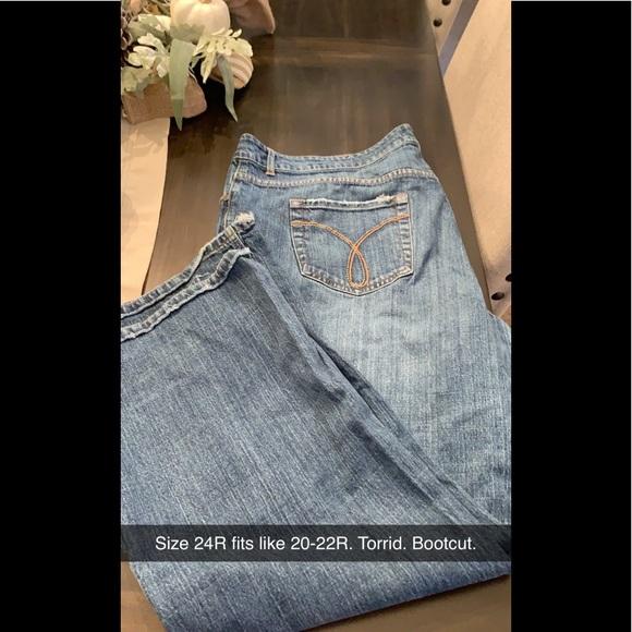 torrid Denim - Torrid Bootcut Jeans